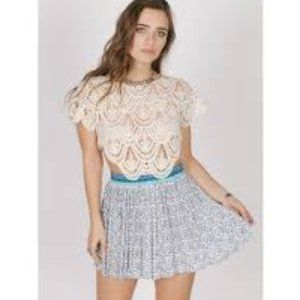 RAGA Love Spell Mini Skirt Boho Size Small